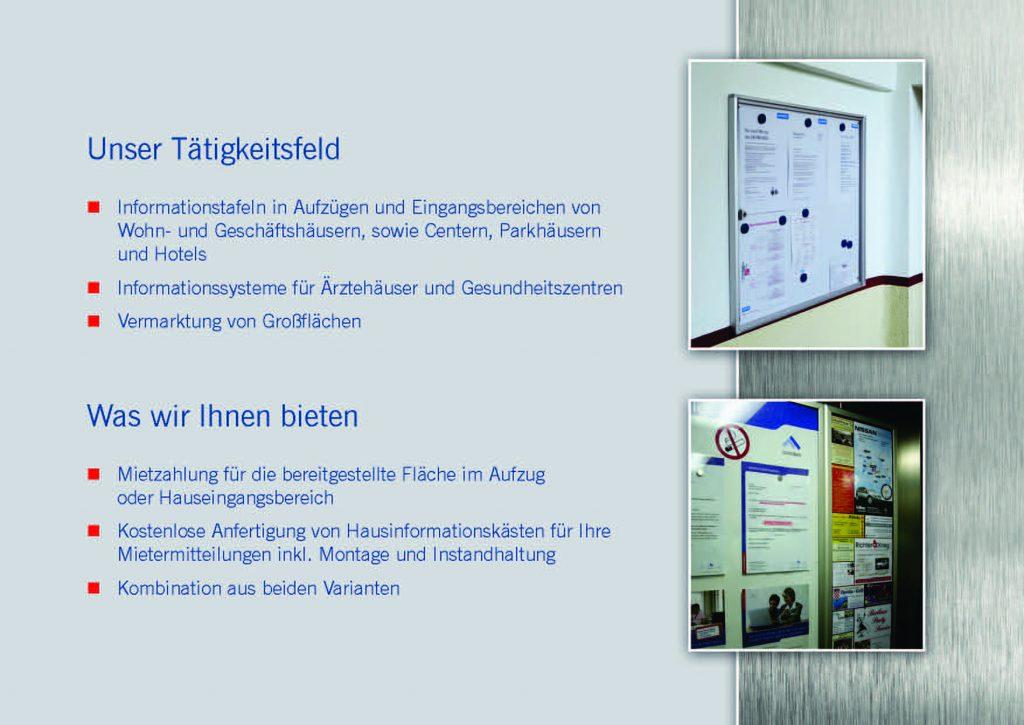 Isar Werbeflächen GmbH Infobroschüre Seite 3